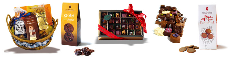 assortiments produits chocolaterie chatillon